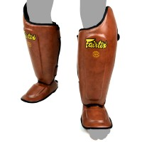 SHIN GUARDS FAIRTEX SP8 ULTIMATE BROWN