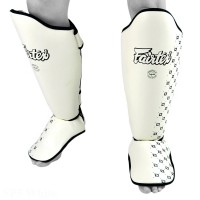 SHIN GUARDS FAIRTEX SP5 COMPETITION WHITE
