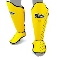 SHIN GUARDS FAIRTEX SP5 COMPETITION YELLOW