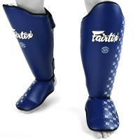SHIN GUARDS FAIRTEX SP5 COMPETITION BLUE