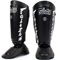 SHIN GUARDS FAIRTEX SP7 TWISTER BLACK