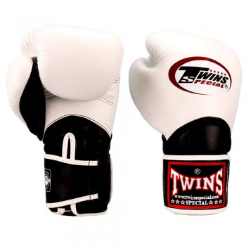 BOXING GLOVES TWINS SPECIAL BGVL-11 WHITE-BLACK
