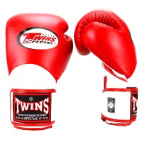 BOXING GLOVES TWINS SPECIAL BGVL-11 RED-WHITE