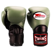BOXING GLOVES TWINS SPECIAL BGVL-11 OLIVE-BLACK