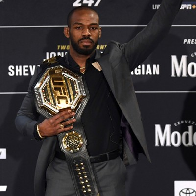 JON JONES SAYS HE'LL RELINQUISH UFC LIGHT HEAVYWEIGHT BELT