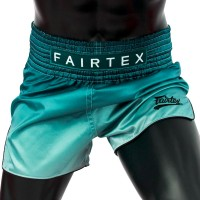 MUAY THAI SHORTS FAIRTEX BS1906 FADE (GREEN)