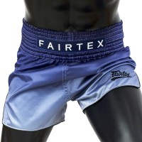 MUAY THAI SHORTS FAIRTEX BS1905 FADE (BLUE)