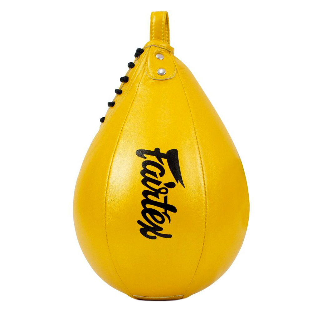 FAIRTEX MUAY THAI BOXING SPEED BALL BAG SB1 YELLOW