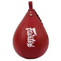 FAIRTEX MUAY THAI BOXING SPEED BALL BAG SB1 RED