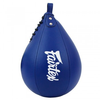 FAIRTEX MUAY THAI BOXING SPEED BALL BAG SB1 BLUE