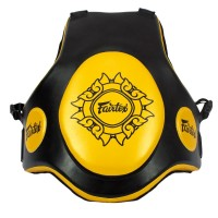 FAIRTEX TV2 PROTECTIVE TRAINER VEST FREE SIZE BLACK-GOLD