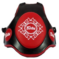 FAIRTEX TV2 PROTECTIVE TRAINER VEST FREE SIZE BLACK-RED