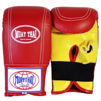 BAG GLOVES BRAND MUAY THAI RED