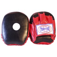 MUAY THAI BRANDS MTM-02 MINI FOCUS MITTS BLACK