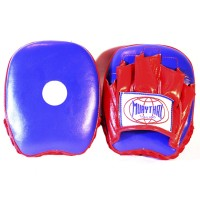 MUAY THAI BRANDS MTM-02 MINI FOCUS MITTS BLUE