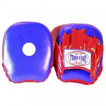 MUAY THAI BRANDS MTM-02 MINI FOCUS MITTS BLUE