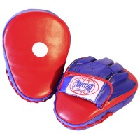MUAY THAI BRANDS MTM-01 FOCUS MITTS RED