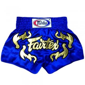 MUAY THAI SHORTS FAIRTEX BS0664 CLASSIC BLUE