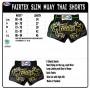 MUAY THAI SHORTS FAIRTEX BS0665 CLASSIC BLACK