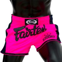 MUAY THAI SHORTS FAIRTEX BS1714 SHOCKING PINK