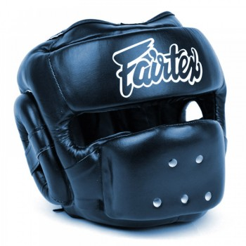 FAIRTEX HG14 FULL FACE HEADGUARD HEADGEAR BLUE