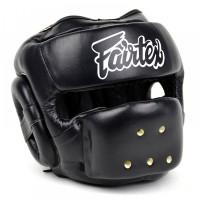 FAIRTEX HG14 FULL FACE HEADGUARD HEADGEAR BLACK