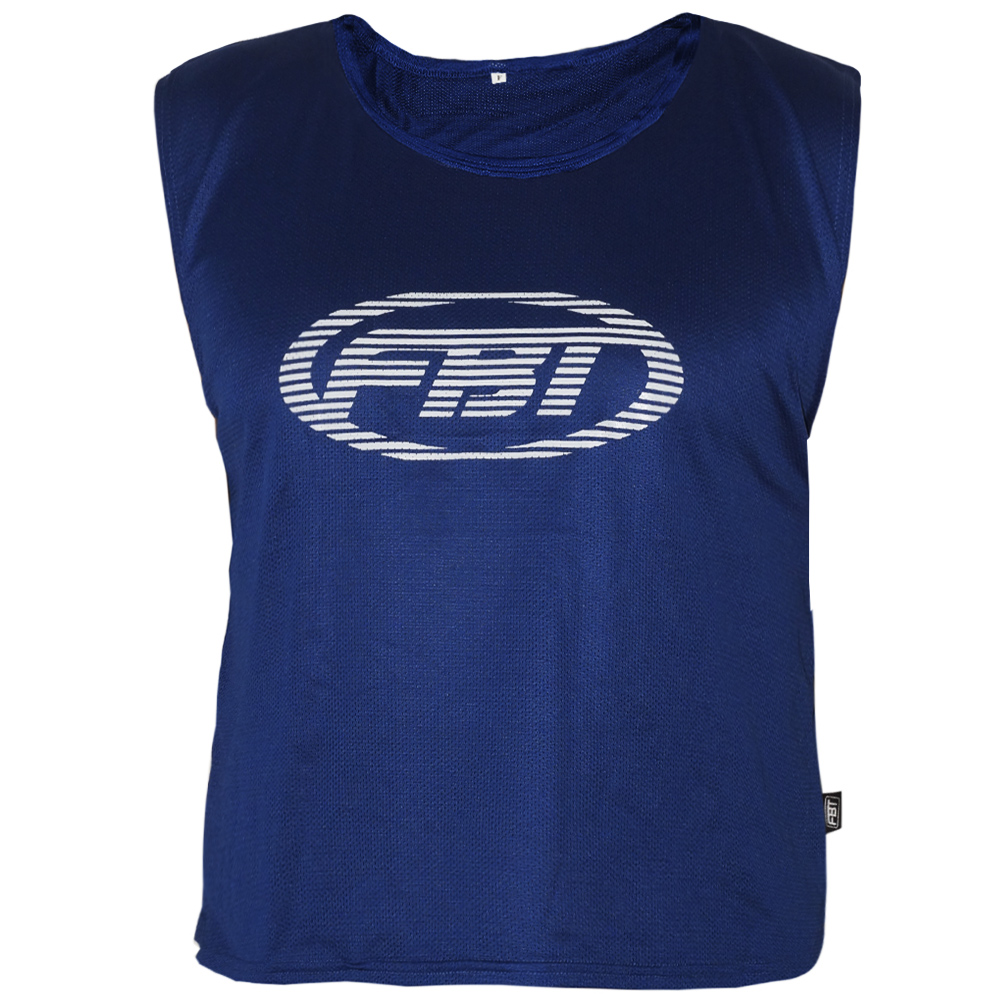 FBT MUAY THAI BOXING T-SHIRT BLUE FREE SIZE FITS FOR ALL
