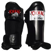 YOKKAO KIDS MUAY THA SHIN GUARDS BLACK