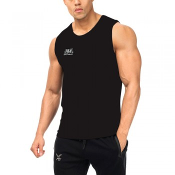 NATIONMAN MUAY THAI BOXING COMPETITIONS VEST BLACK