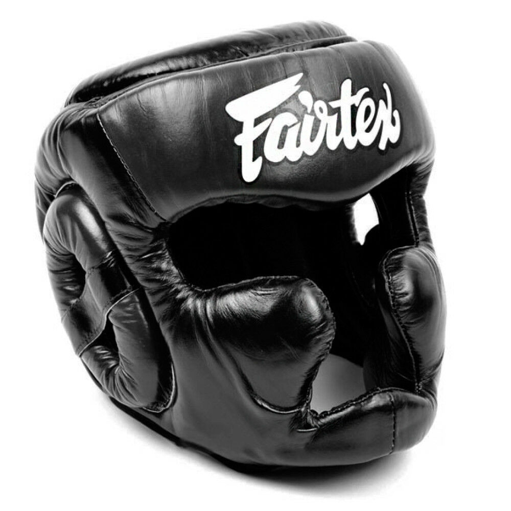 BOXING HEADGEAR FAIRTEX HG13 BLACK