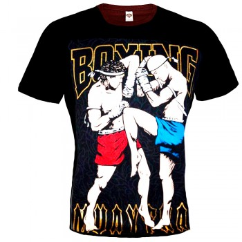 "T-SHIRTS MUAY THAI ""BORN TO BE"" COTTON MT-20"