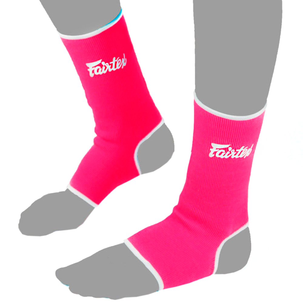 FAIRTEX MUAY THAI ANKLE SUPPORT AS1 PINK