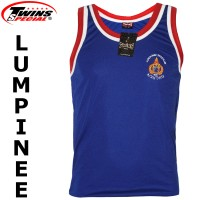 TWINS SPECIAL LUMPINEE TSL-1 BLUE MUAY THAI BOXING T-SHIRT TRAINING TANK TOP