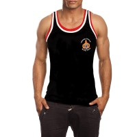 TWINS SPECIAL LUMPINEE TSL-1 BLACK MUAY THAI BOXING T-SHIRT TRAINING TANK TOP