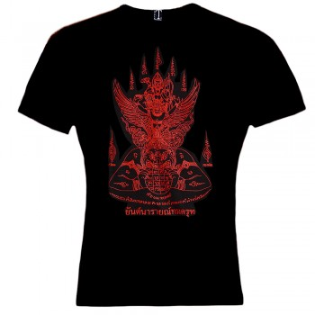 T-SHIRTS MUAY THAI RUBBER PRINT TATOO GARUDA