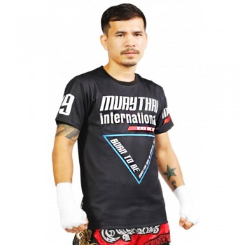 "T-SHIRTS MUAY THAI ""BORN TO BE"" PSBT-15 TECH QUICK DRY WICKING"