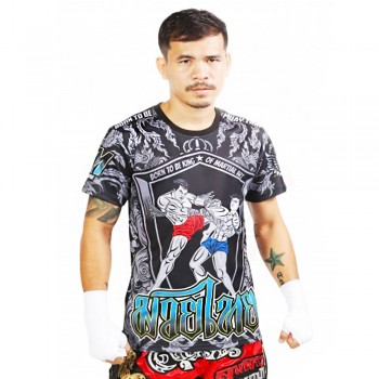 "T-Shirts Muay Thai ""Born to Be"" PSBT-09 Tech Quick Dry Wicking"