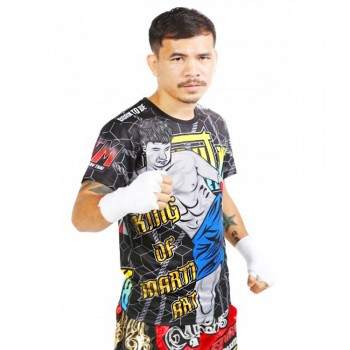"T-SHIRTS MUAY THAI ""BORN TO BE"" PSBT-08 TECH QUICK DRY WICKING"