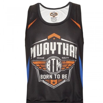 TANK TOP BORN TO BE SVBT-20 MUAY THAI TECH QUICK DRY WICKING