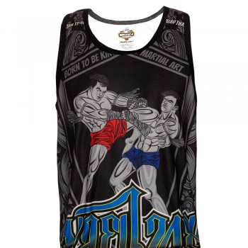 TANK TOP BORN TO BE SVBT-09 MUAY THAI TECH QUICK DRY WICKING