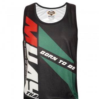 TANK TOP BORN TO BE SVBT-99 MUAY THAI TECH QUICK DRY WICKING