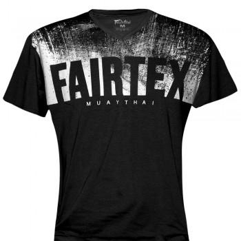 T-SHIRT FAIRTEX TST68 BLACK MUAY THAI TECH QUICK DRY WICKING
