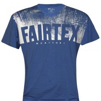 T-SHIRT FAIRTEX TST68 BLUE MUAY THAI TECH QUICK DRY WICKING