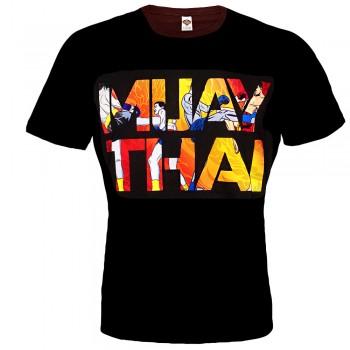 "T-SHIRTS MUAY THAI ""BORN TO BE"" COTTON  MT-8049"