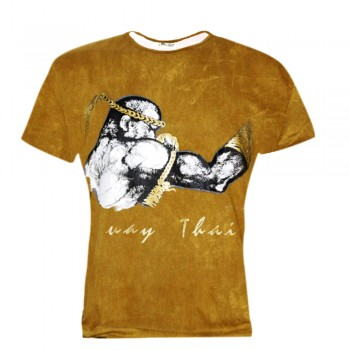 T-Shirts Muay Thai Human Fight Cotton HN-02