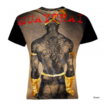 T-Shirts Muay Thai Human Fight Cotton HN-09