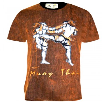 T-Shirts Muay Thai Human Fight Cotton HN-097