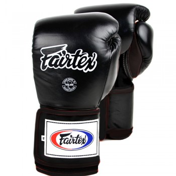 BOXING GLOVES FAIRTEX BGV5 SUPER SPARRING BLACK