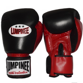 BOXING GLOVES LUMPINEE MUAY THAI BLACK-RED