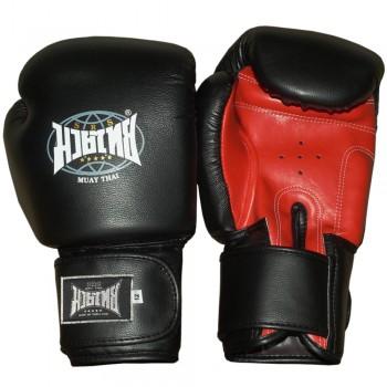 """Boxing Gloves Brand """"Muay Thai"""" Black-Red"""